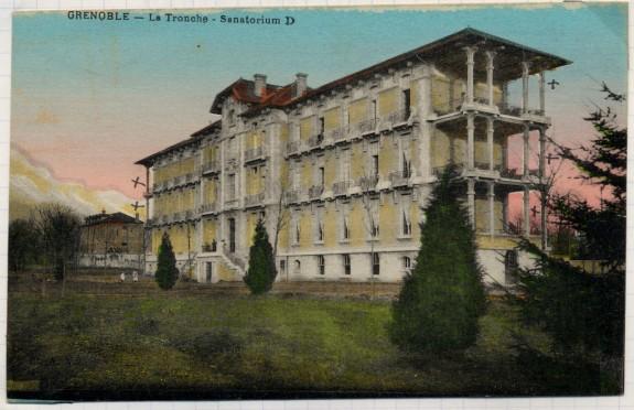 Le sanatorium de La Tronche