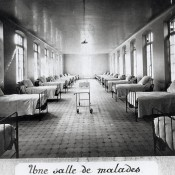 L'Hôpital civil de La Tronche – 1913