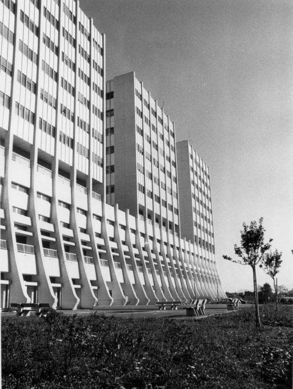 L'hôpital Michallon (anciennement hôpital des Sablons)