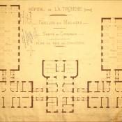 L'Hôpital civil de La Tronche – 1913