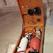Ventilateurs artificiels portatifs Pulmotor PT1 et Pulmotor